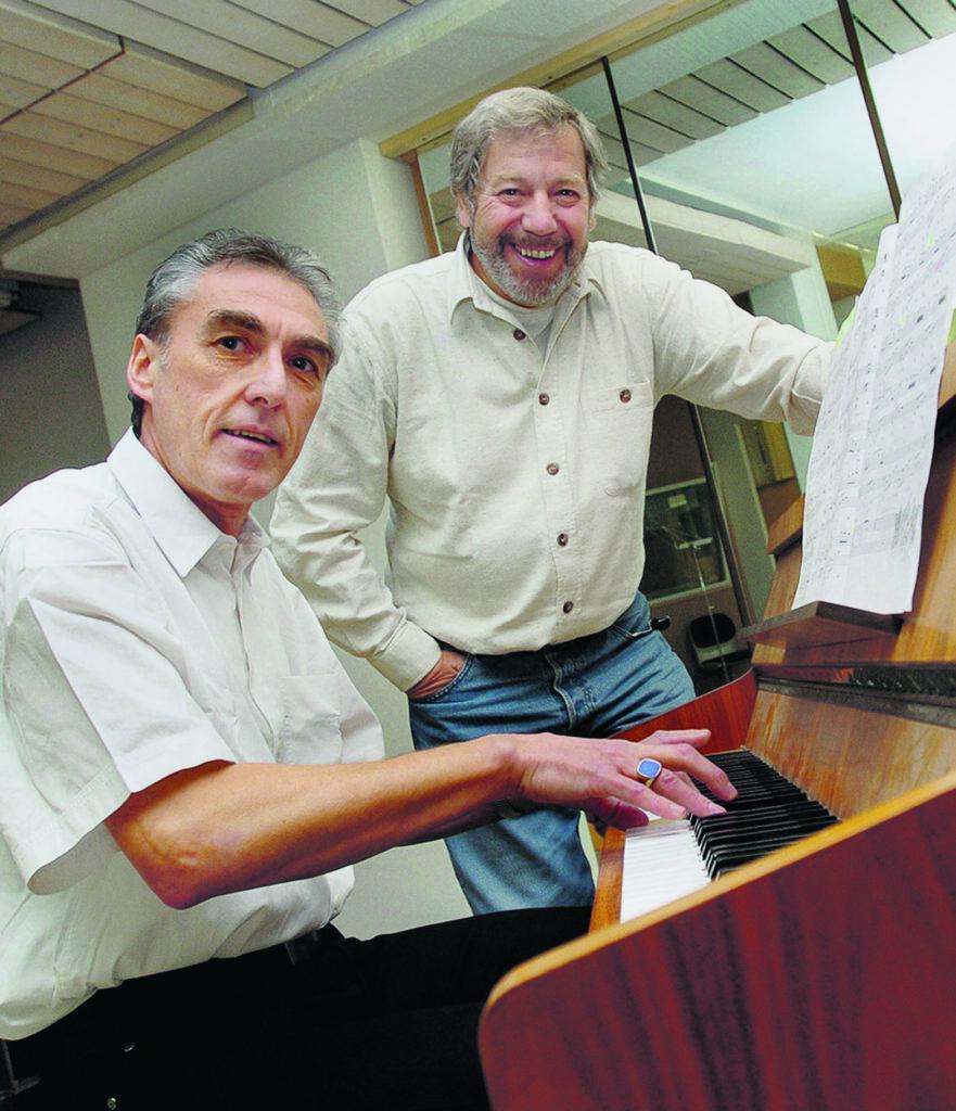 Alex Eugster mit Rolf - 2006