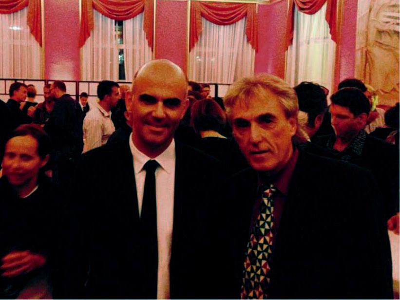 Links: Alain Berset, Rechts: Rolf W. Kunz - 2014