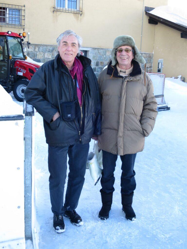 Rolf W. Kunz & Zuschauer in Bivio