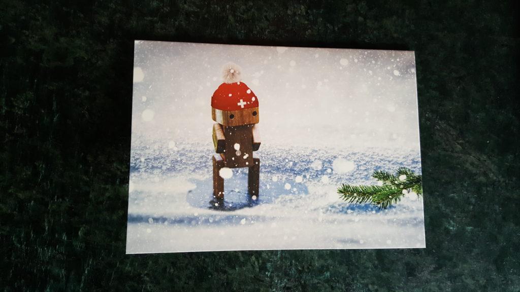 Weihnachtskarte von Ueli Maurer