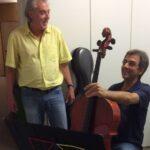 Rolf W. Kunz (componist), Luzius Gartmann (cellist)