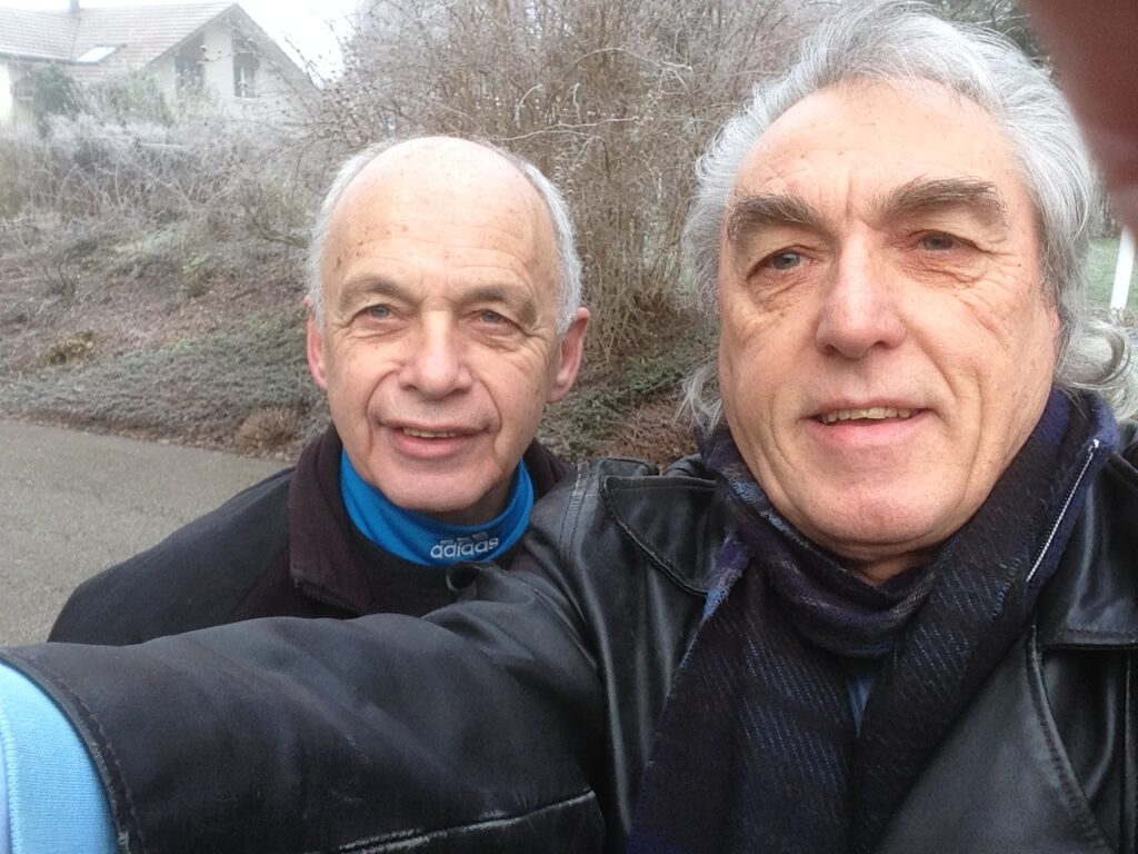 Selfie with Ueli
