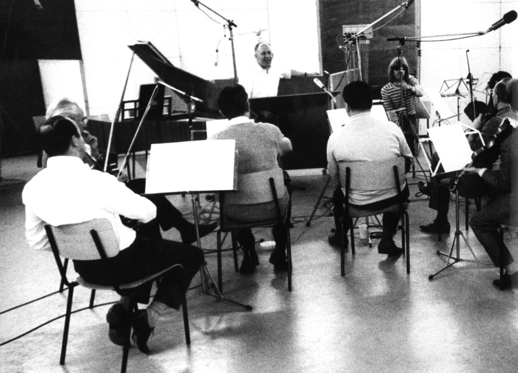 """Strings-Recording for """"Heavenly Club"""""""
